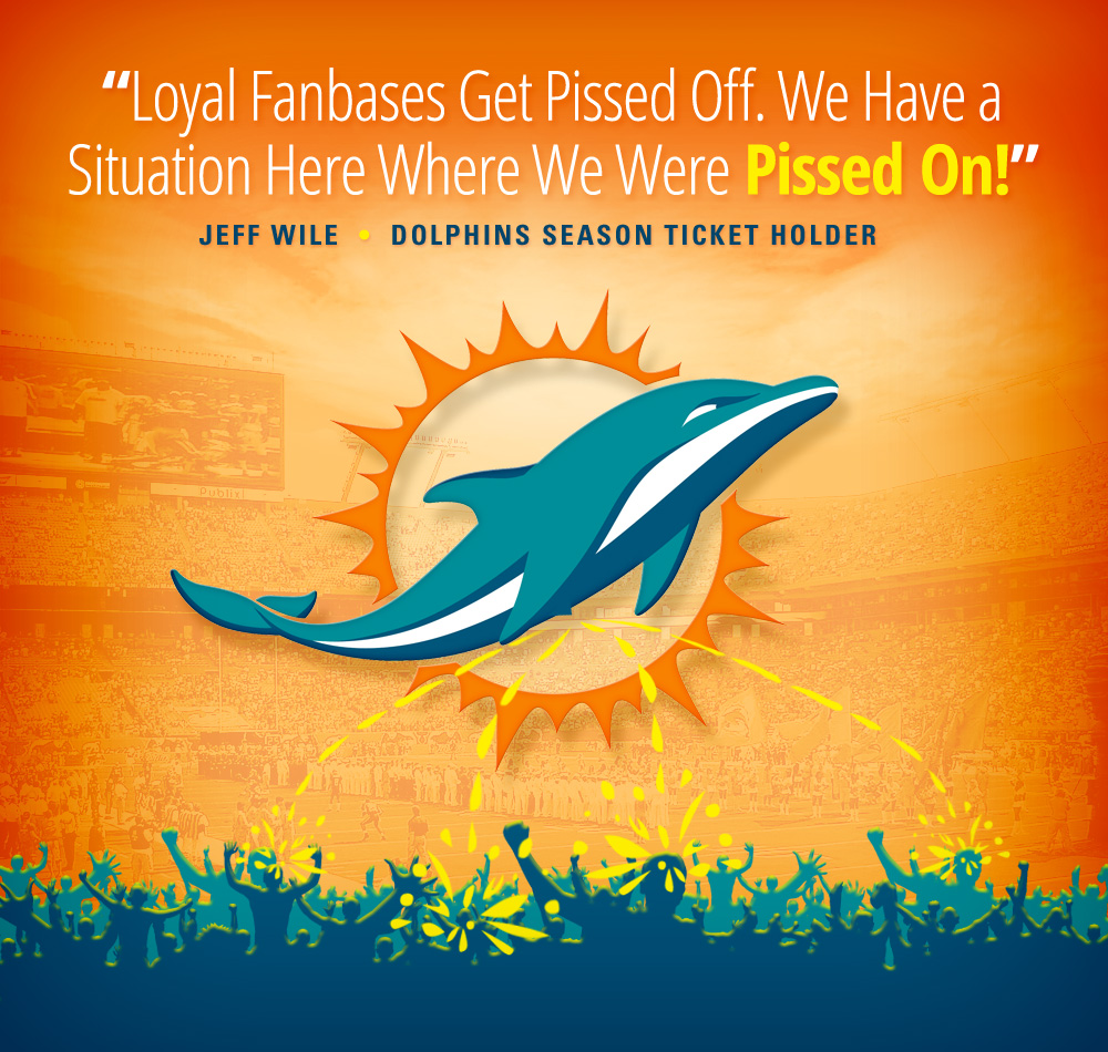 Miami Dolphins Continue Abusing Customers