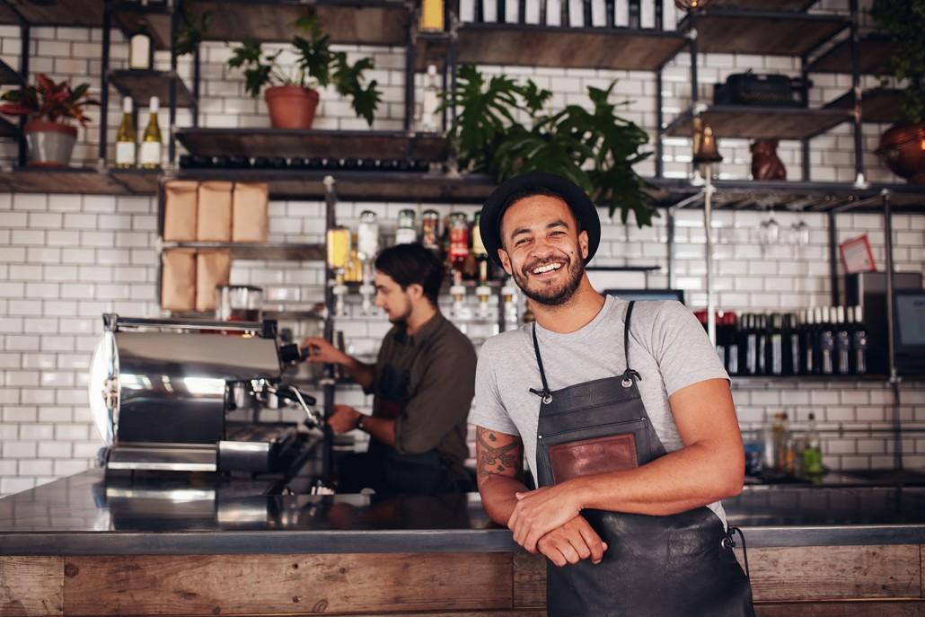 successful restaurant happy employee