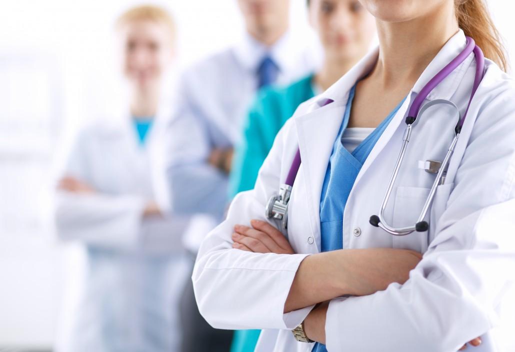 medical linen service professionals