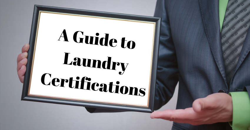 laundry certifications